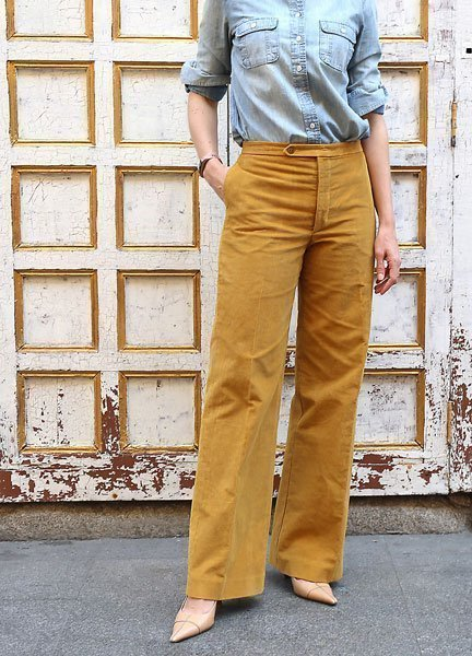 Liesl & Co - Hollywood Trousers Sewing Pattern