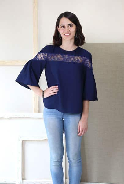 liesl and co afternoon tea blouse