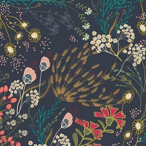 rayon meadow dim fabric art gallery