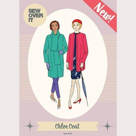 chloe coat- sew over it patterns