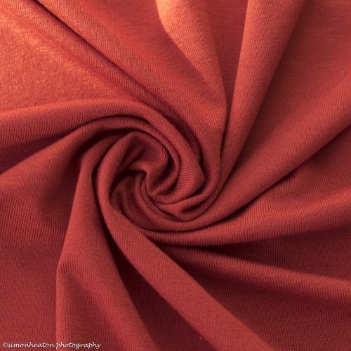 Viscose Jersey Dress Fabric - Paprika