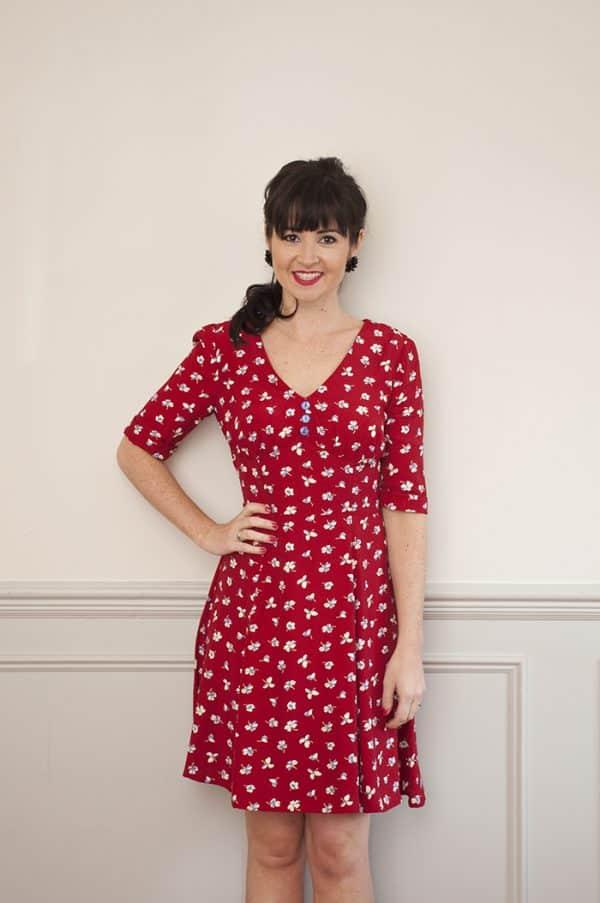 1940s Tea Dress