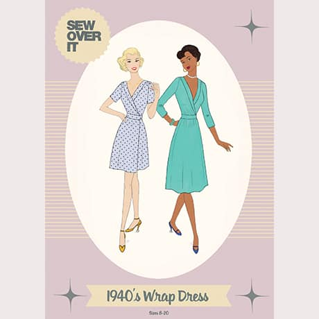 Sew Over It - 1940's Wrap Dress