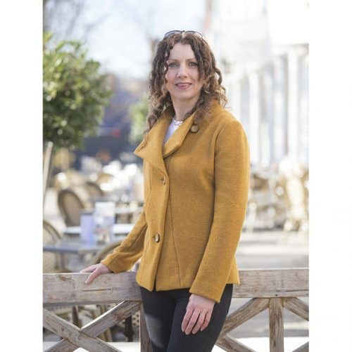 LaraJacket PDF Boiled Wool Sewing Pattern