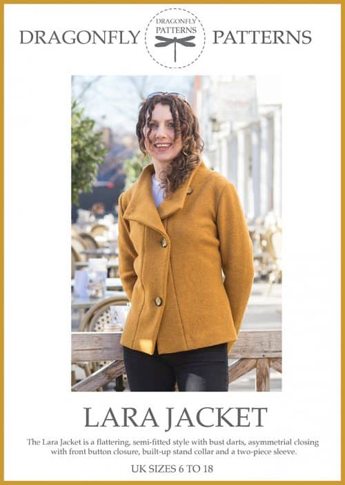 Dragonfly Patterns- Lara Boiled Wool Jacket