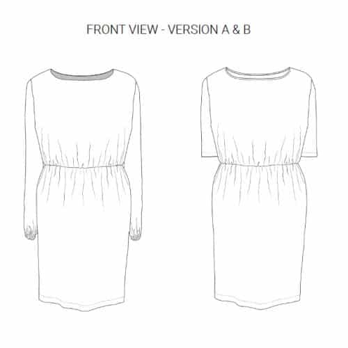 The Lena Dress PDF- Dragonfly Patterns
