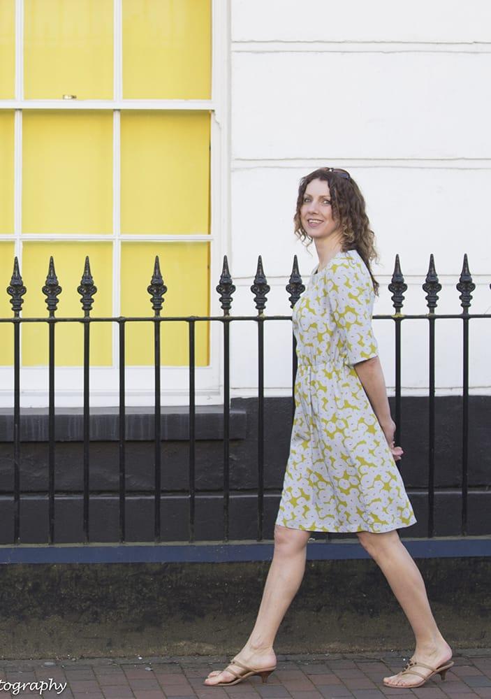 Lena Dress Sewing Pattern- Dragonfly Fabrics UK