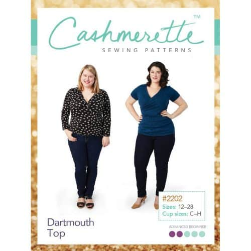 Dartmouth Top - Cashmerette Patterns
