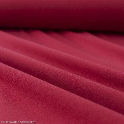 Rio Crepe Fabric - Red