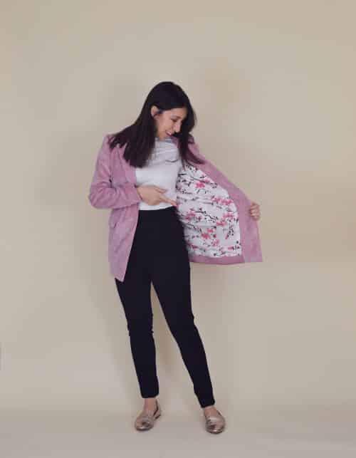 Nina Lee The Richmond Blazer Sewing Pattern