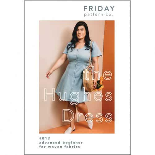 Hughes Dress- Friday Pattern Company