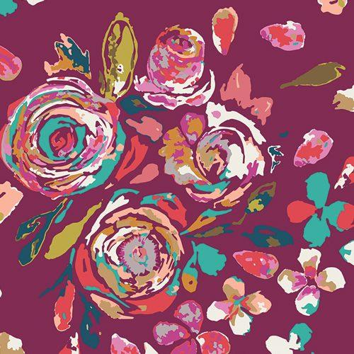 Art Gallery Rayon - Boho Fusion Swifting Flora