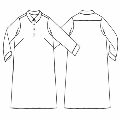 Merchant & Mills - The Rugby Top and Dress Sewing Pattern