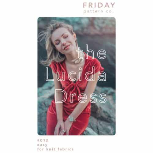 lucida dress pattern- friday pattern co