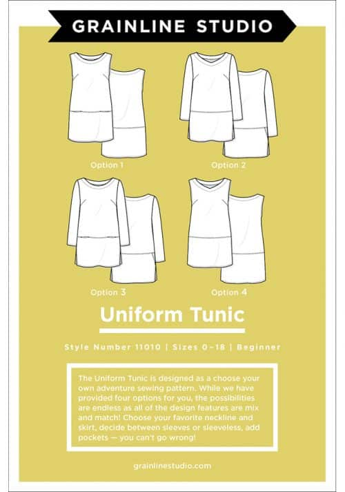 Grainline Studio - Uniform Tunic Sewing Pattern