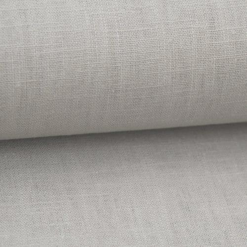 Bio Linen Dress Fabric - Light Grey