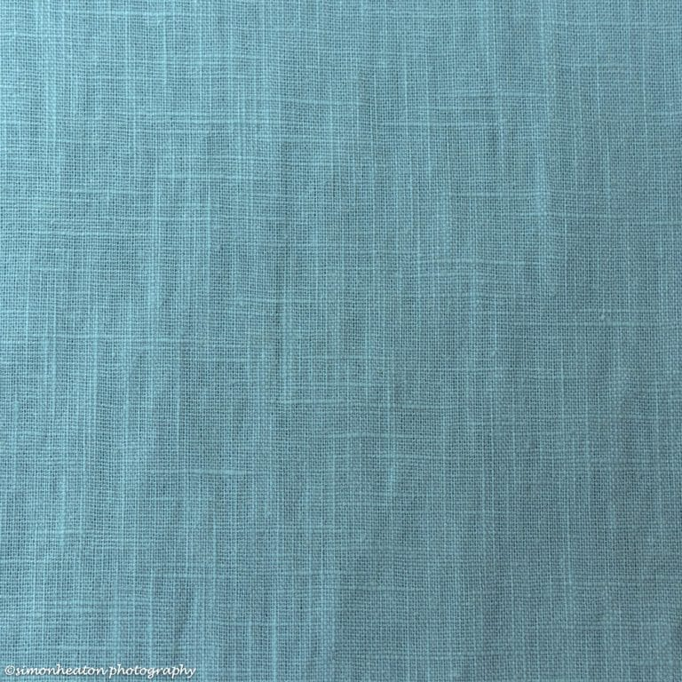 teal enzyme washed linen
