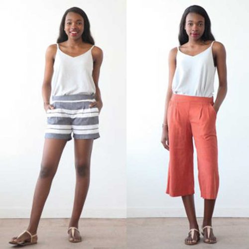 Emerson Pants and Shorts - True Bias Sewing Patterns