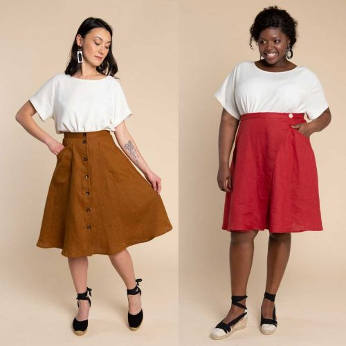 Fiore Skirt Sewing Pattern