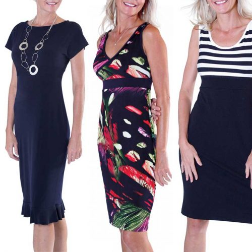 Knit Dresses Sewing Pattern