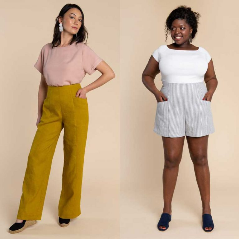 Pietra Pants and Shorts Sewing Pattern