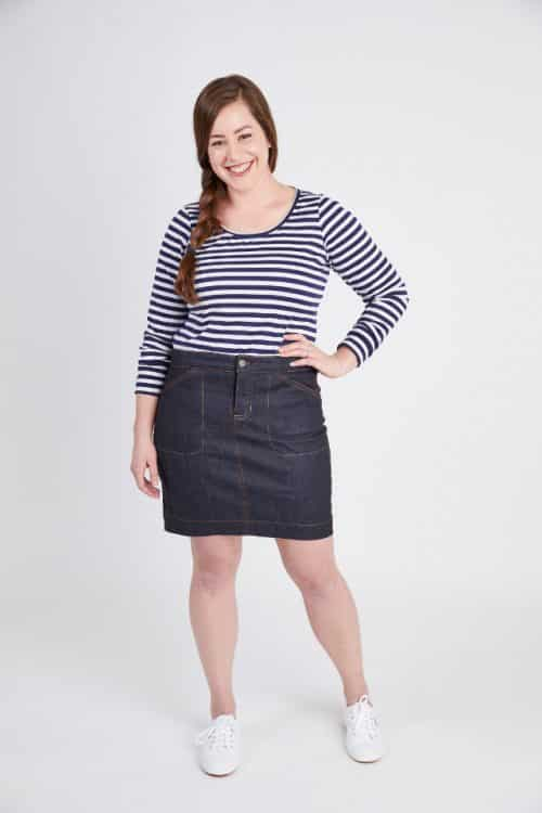 Ellis Skirt - Cashmerette Patterns