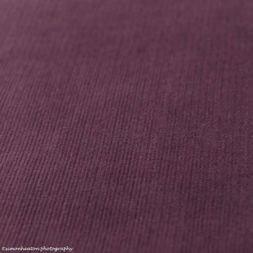 grape purple needlecord