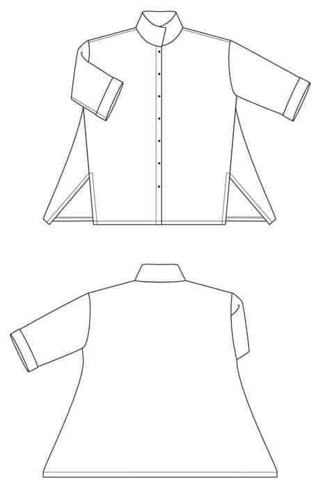 Sewing Workshop - London Shirt Sewing Pattern