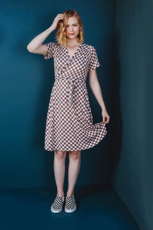 Westcliff Dress- Friday Pattern Company
