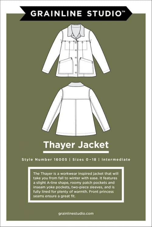 Grainline Studio - Thayer Jacket Sewing Pattern
