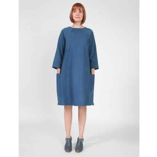 rushcutter dress in the folds sewing patterns