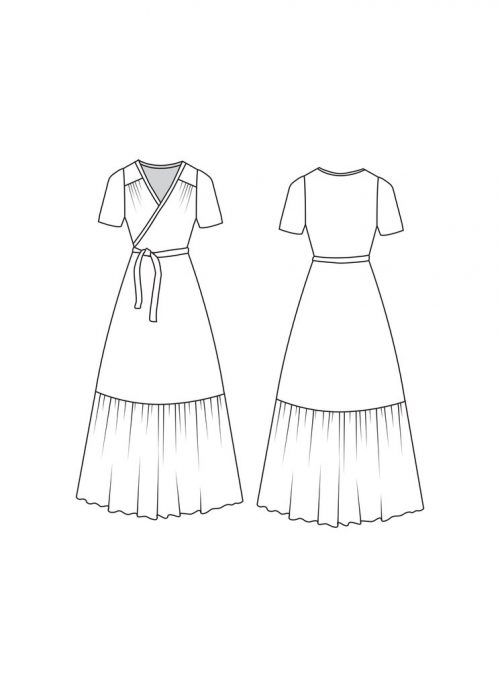 Westcliff Dress- Friday Pattern Company