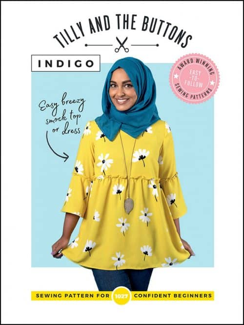 Indigo Top and Dress- Tilly and the Buttons Sewing Pattern