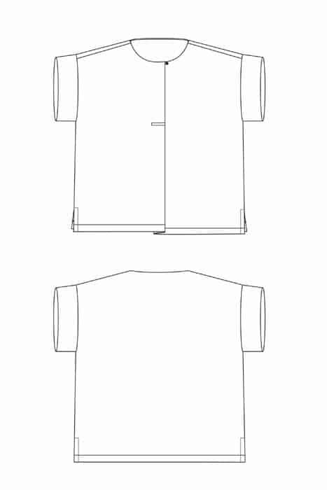 Sewing Workshop - Hugo Top Sewing Pattern