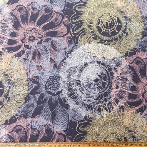 organic cotton lawn dress fabric