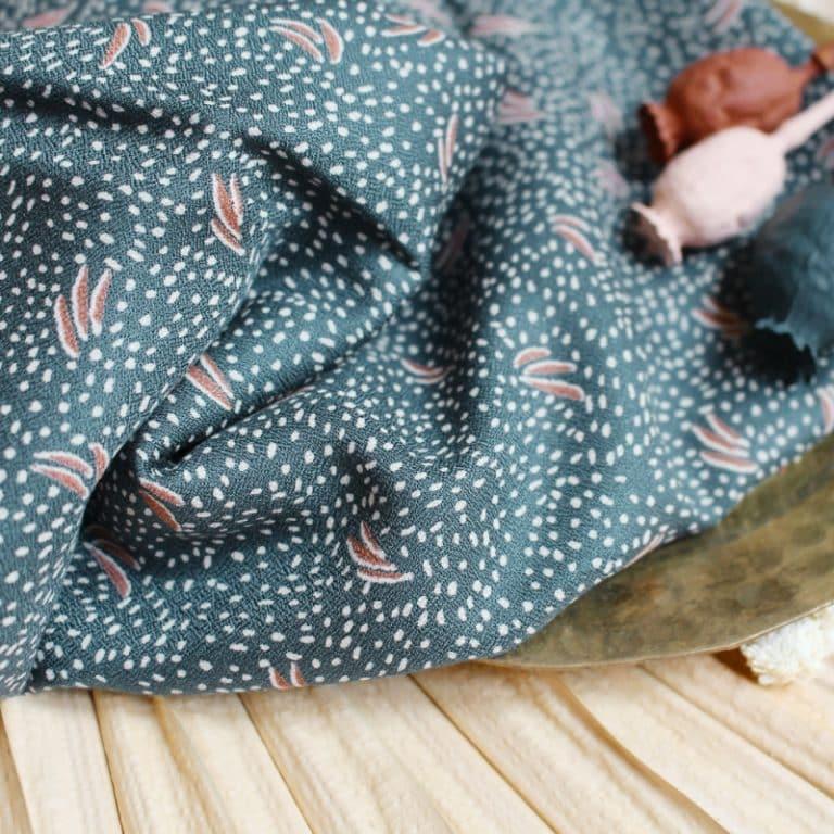 Dune Smokey Dress Fabric by Atelier Brunette