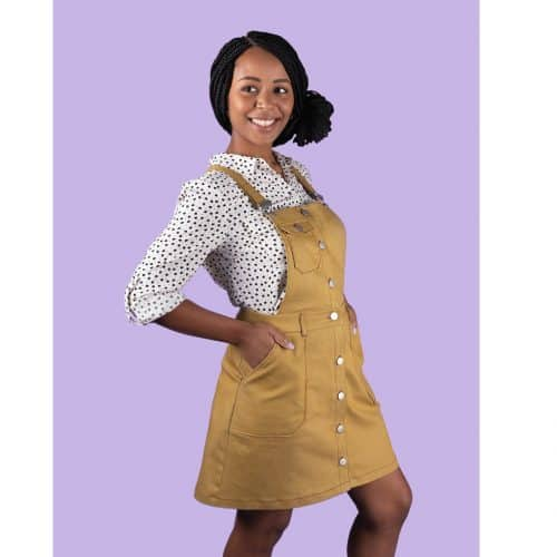 Tilly and the Buttons - Bobbi Pinafore and Skirt Sewing Pattern