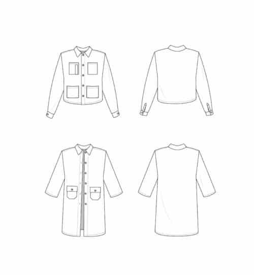 The Ilford Jacket- Friday Pattern Company