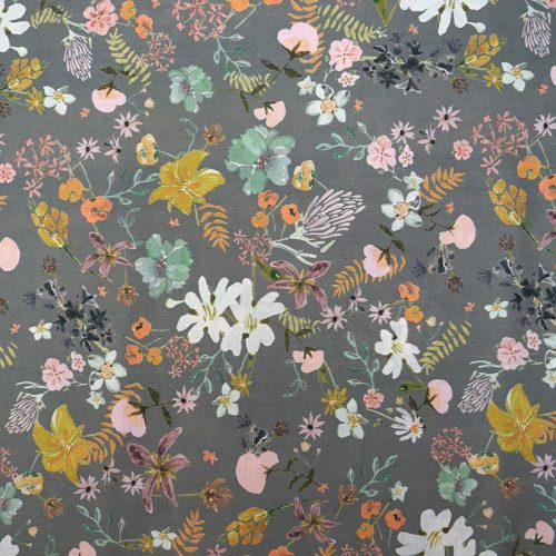 Lady McElroy Cotton Lawn Dress Fabric - Springtime Haze