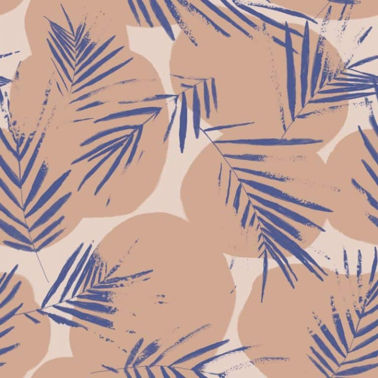 Canopy Cobalt Viscose Crepe Dress Fabric by Atelier Brunette