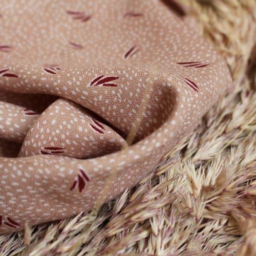 Dune Maple Viscose Dress Fabric by Atelier Brunette