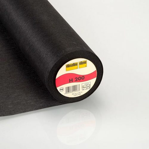 Vilene Fusible Interfacing H200 Black