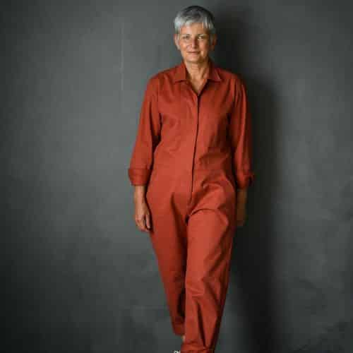 Thelma boiler suit sewing pattern