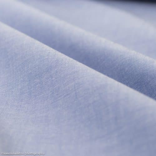 NEW 100% Cotton Chambray Fabric - Blue