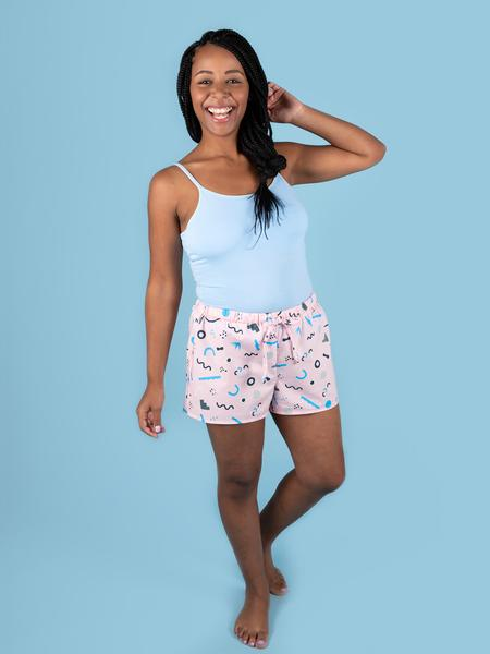 Jaimie Pyjama Bottoms and Shorts - Tilly and the Buttons Sewing Pattern