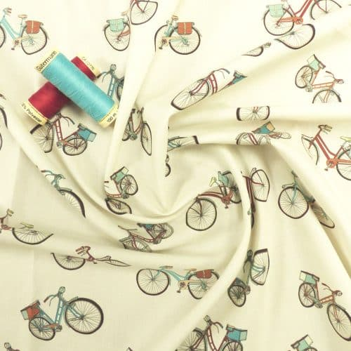 Lady McElroy Cotton Lawn Dress Fabric - London Commute