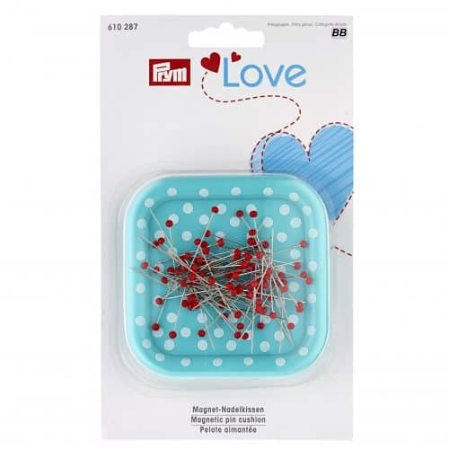 Prym - Magnetic pincushion with glass-headed pins
