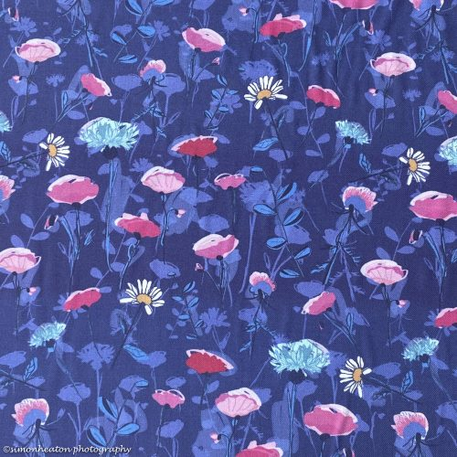Viscose Twill Dress Fabric - Rosella Blue
