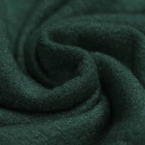 Boiled Wool Fabric - Dark Green