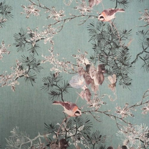Lady McElroy Cotton Lawn Dress Fabric - Feather Haven